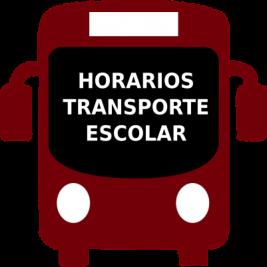 Horarios de transporte escolar