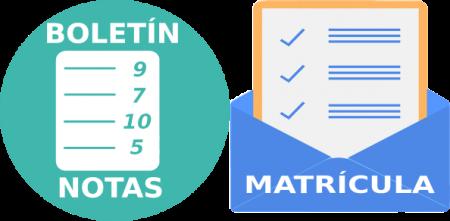 Entrega de boletines 2019-2020 y matriculación curso 2020-2021