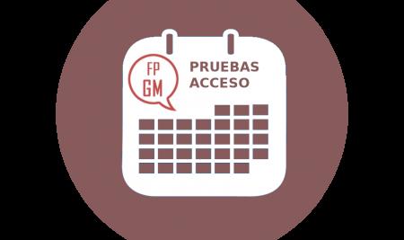 Pruebas de acceso a ciclos formativos de Grado Medio. Curso 2020-2021