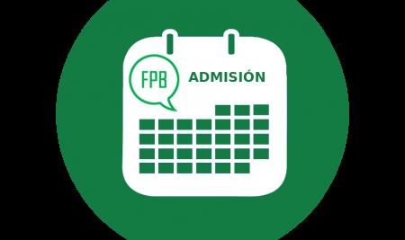 Procedimiento de admisión FPB Servicios Comerciales curso 2021-2022
